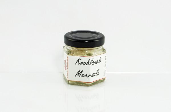 Knoblauch Meersalz