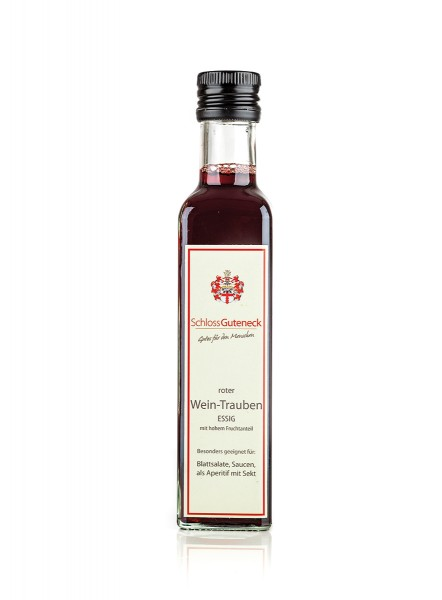 Roter Wein-Trauben Essig